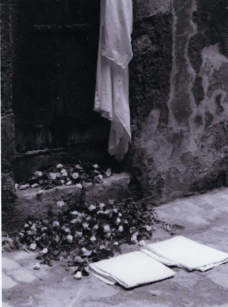 Loss 2 (Roses in Doorway)